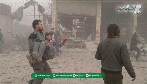 """""""الضامن الروسي"""" يمهد لـ""""أستانا 9"""" بغارات انتقامية على مدن وبلدات إدلب"""