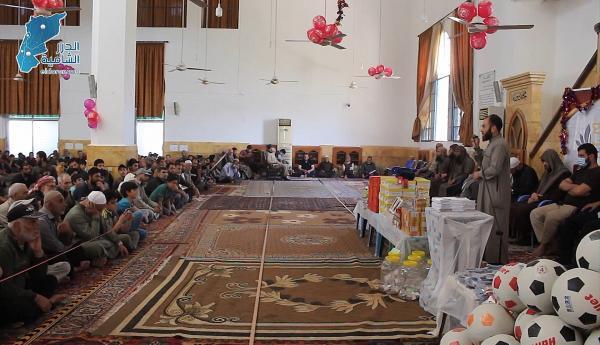 مديرية الأوقاف في الدانا تكرم 883 طفل ضمن حملة فرسان الفجر
