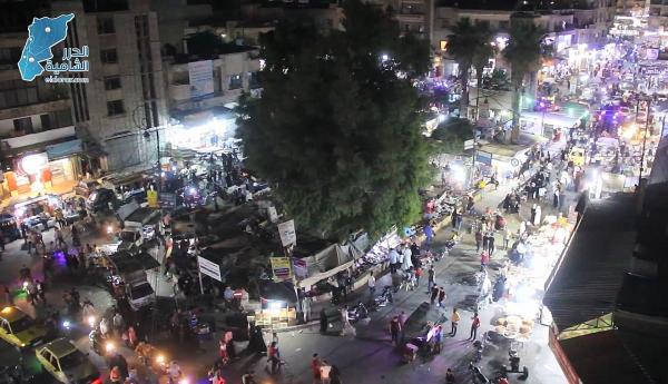 أجواء مدينة إدلب وتجهيزات الأهالي لاستقبال عيد الأضحى المبارك