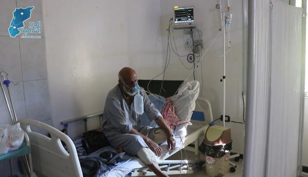 جولة لعدسة الدرر الشامية داخل مركز العزل الصحي لمرضى الكورونا في مدينة جسر الشغور