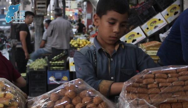 أجواء وقفة عيد الأضحى المبارك في مدينة الباب شرق حلب