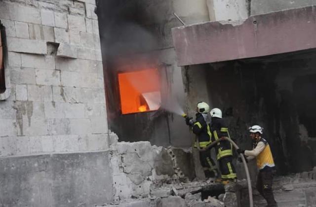 """روسيا تكثف من قصفها على """"جسر الشغور"""" بإدلب وتوقع ضحايا بين المدنيين"""