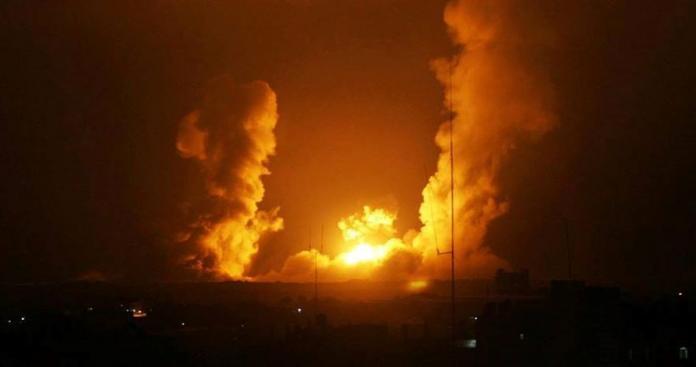 إصابات نتيجة غارات إسرائيلية على قطاع غزة .. وحماس تحذر