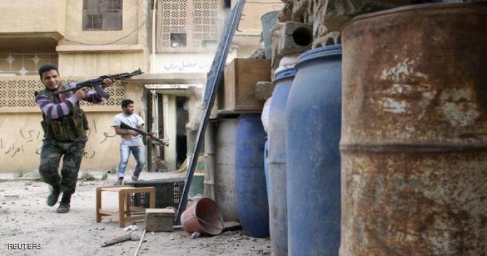 """اشتباكات عنيفة في محاولة للشبيحة لاقتحام قرية """"كفرنجد"""" بإدلب"""