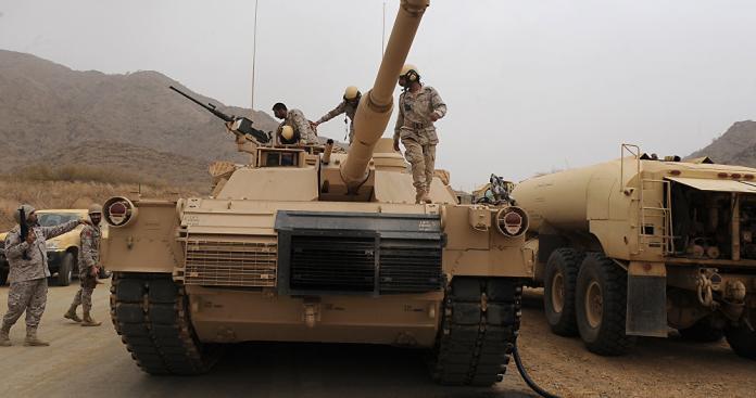 رصد تحركات سعودية عسكرية على نطاق كبير في تلك المنطقة