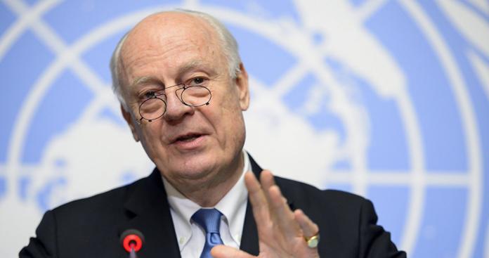 روسيا: الأمم المتحدة تنسق مع نظام الأسد لتعيين خليفة دي مستورا