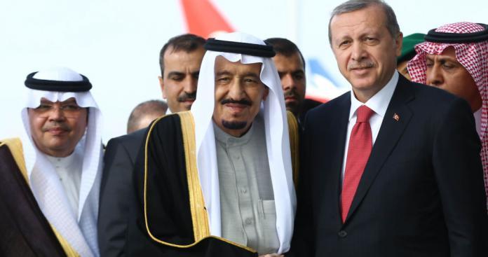 """في ظل اشتعال الخلافات.. رسالتان من الملك سلمان ومحمد بن سلمان لـ""""أردوغان"""""""