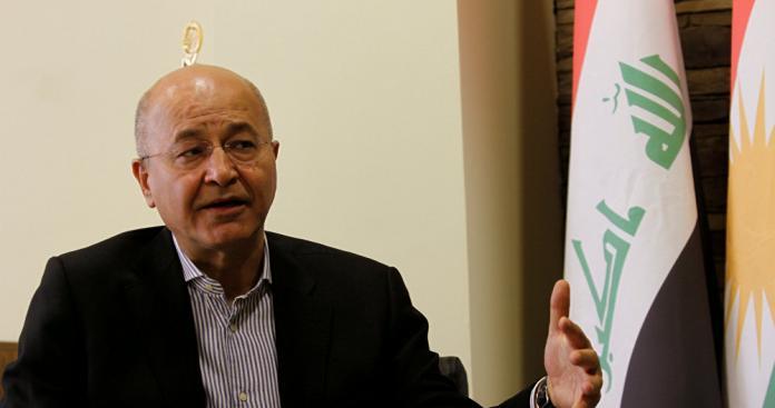 """الرئيس العراقي: هناك عناصر لـ""""تنظيم الدولة"""" في هذا المكان بسوريا"""