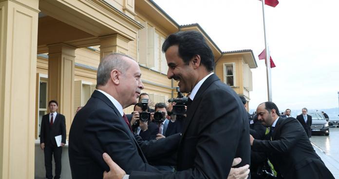 """هدية """"ثانية"""" من قطر للرئيس التركي """"أردوغان"""""""