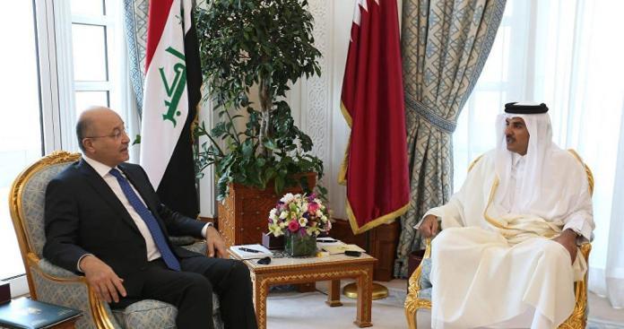 خبر سار من أمير قطر للعراقيين