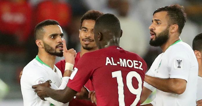 مباراة قطر الإمارات في نصف نهائي كأس آسيا 2019 تخلط الرياضة بالسياسة |  الدرر الشامية