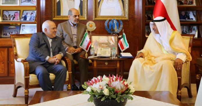إيران تعرض على الدول الخليجية خطوتان من أجل تطمينهم من خلال الكويت