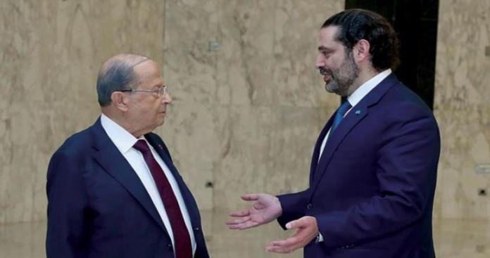"""#لبنان_ينهار يتصدر تويتر.. و#ميشال_عون ينفض يده ويلقي اللوم على """"الحريري"""""""