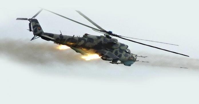 """فصائل """"جبل الشيخ"""" تسقط مروحية للنظام غرب دمشق ومقتل طاقمها """" فيديو"""""""