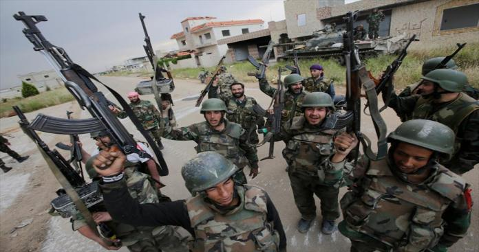 المخابرات بحماة تزج بالشباب في معارك ضد تنظيم الدولة دون الخضوع لتدريبات عسكرية