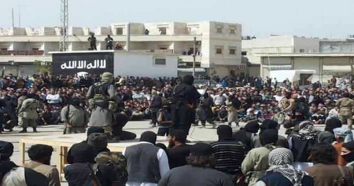 تنظيم الدولة يمنع المدنيين الخروج من مدينة الباب