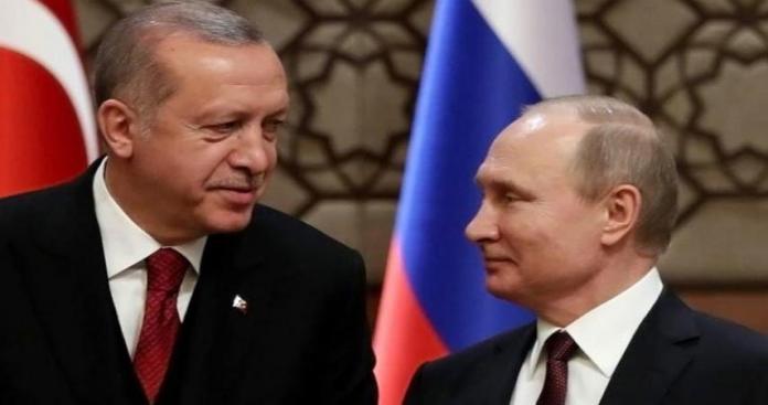أردوغان يبحث مع بوتين التسوية في سوريا ومصير إدلب