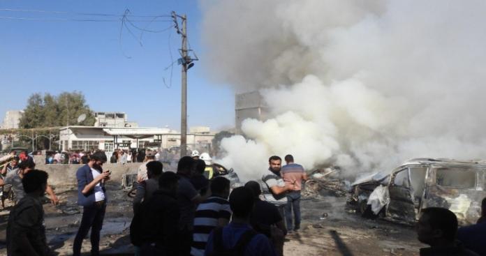 بعد عفرين.. مفخخة أخرى تضرب بلدة شرقي حلب وتحوّل يوم العرض العسكري للجيش الوطني إلى مأساة