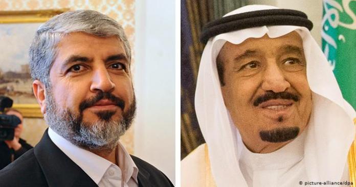 """""""حماس"""" توجه طلبًا عاجلًا إلى الملك سلمان"""