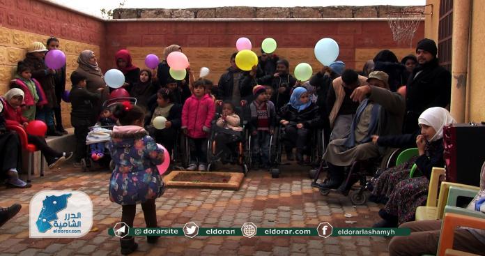 صعوبات يواجهها مركز ذوي الاحتياجات الخاصة في بلدة أورم بريف حلب الغربي (صور)