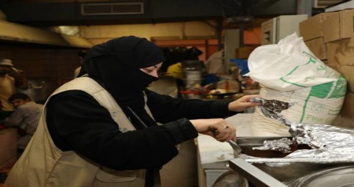 للمرة الأولى من نوعها.. المرأة السعودية تقتحم مجال خدمات الحجاج (صور)