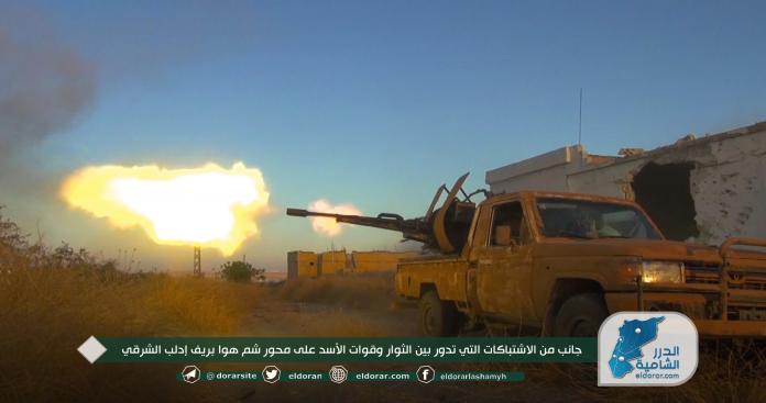 """""""الفتح المبين"""" تكشف لـ""""الدرر الشامية"""" خسائر نظام الأسد في العملية العسكرية جنوب شرق إدلب (فيديو)"""