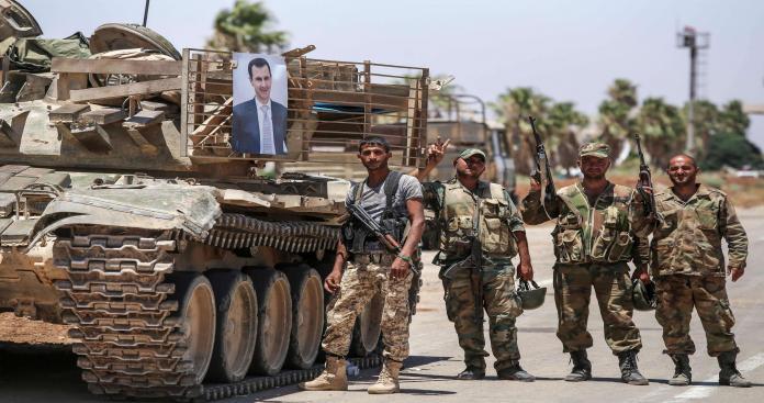"""""""نظام الأسد"""" يرسل تبليغات لـ1500 شاب في القنيطرة"""