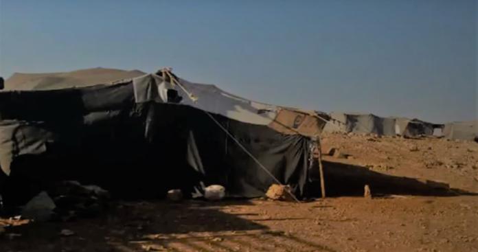 تفاقم معاناة أكثر من 400 عائلة في مخيم كفرحلب شمال سوريا