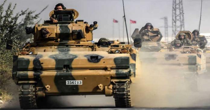 """تركيا تلوح بعملية عسكرية في """"عفرين"""" شمال سوريا"""