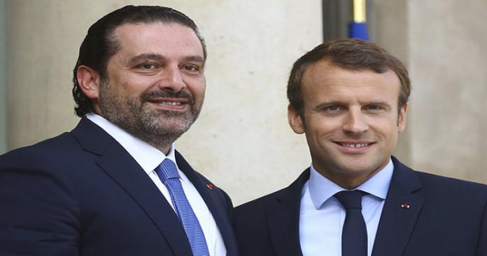 الحريري يلتقي ماكرون في باريس ويعلن موعد عودته إلى لبنان