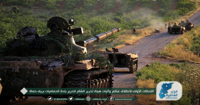"""مع بدء عمل عسكري جديد.. """"تحرير الشام"""" لـ""""الدرر"""": كفرنبودة أصبحت ثقبًا أسود للروس والنظام"""