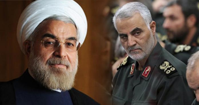 """بعد تهديدات """"روحاني"""".. الحرس الثوري الإيراني يرسل له رسالة"""
