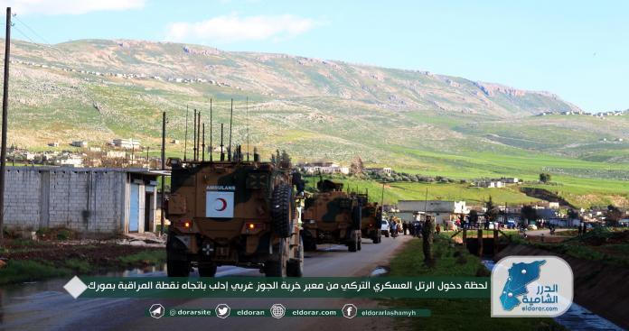 إجراء عسكري جديد للجيش التركي على الأرض بعد يومين من التصعيد الروسي ضد إدلب