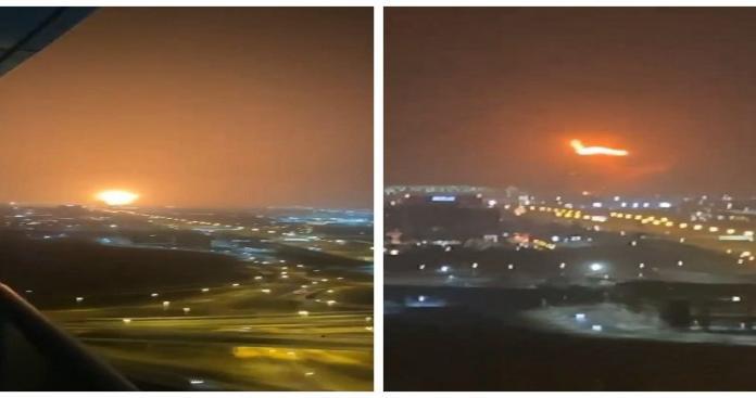 شاهد.. إسرائيلية ترصد انفجار دبي كأنه قنبلة هزت المدينة ومعلومات أولية عن السبب