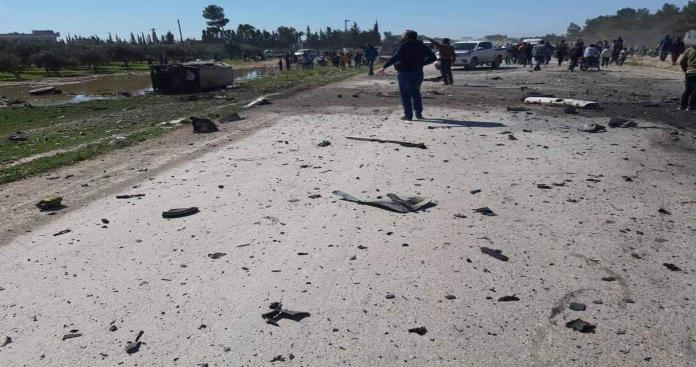 """بعد شهرين.. """"تنظيم الدولة"""" يعلن توجيه ضربة ثانية للقوات الأمريكية في منبج (صور)"""