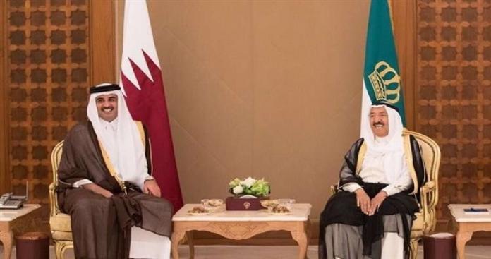 """رسالة """"عاجلة"""" من أمير قطر لأمير الكويت بعد الكشف عن التعليمات الأمريكية """"العليا"""""""