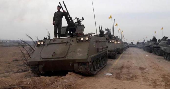 """ميليشيا """"حزب الله"""" يتخذ خطوة عسكرية غير متوقعة في القصير"""