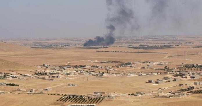 تنظيم الدولة يستعيد قريتين بريف منبج الغربي
