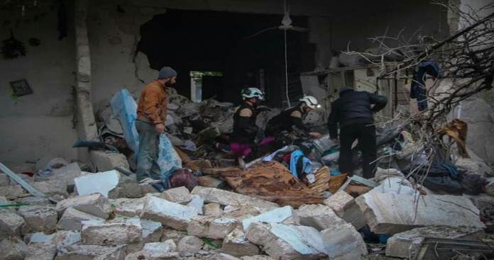 """على عتبات """"سوتشي"""" مجزرة جديدة في إدلب ضحاياها أطفال ونساء"""