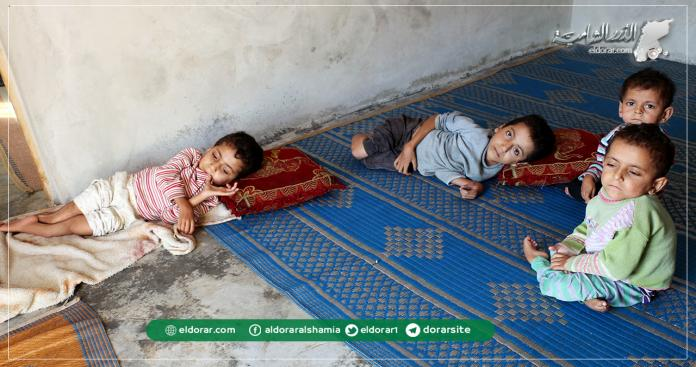 """""""أطفال أبو خيرو"""".. قصة 4 إخوة معاقين في إدلب لا يجدون العلاج (صور)"""