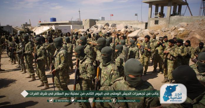 الجيش الوطني ينفذ مقتلة بجنود الأسد شمال الحسكة