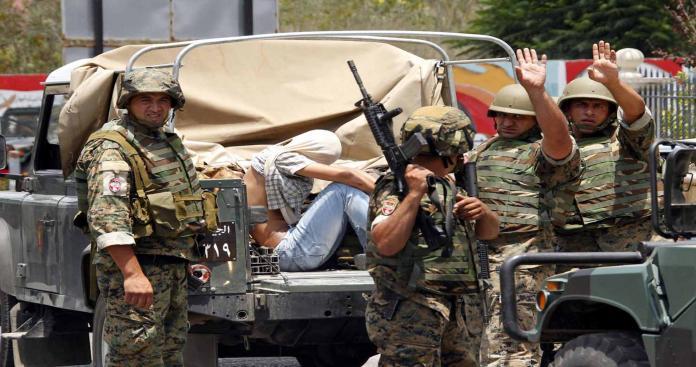 الجيش اللبناني يوقف 28 سوريًّا