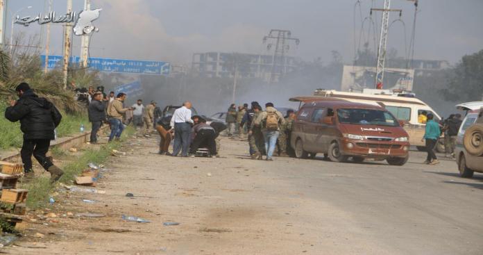 105 شخص حصيلة ضحايا يوم امس السبت في سوريا