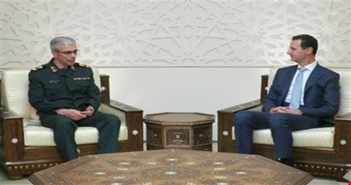 بعد قرابة عامين رئيس الأركان الإيراني يزور دمشق مجددًا.. وإدلب على رأس أجندته