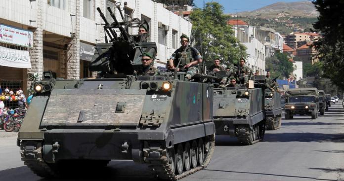 لبنان يطلب دعمًا عسكريًّا روسيًّا لجيشه