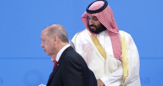 """مصدر سعودي يرد على تقارير خطة """"ابن سلمان"""" لإسقاط """"أردوغان"""" ويوضح دور قطر"""