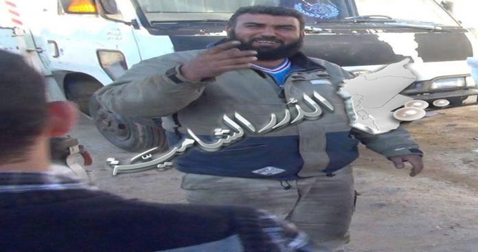 بالصور.. لأول مرة استشهادي من الجبهة الإسلامية لنسف معسكر الخزانات
