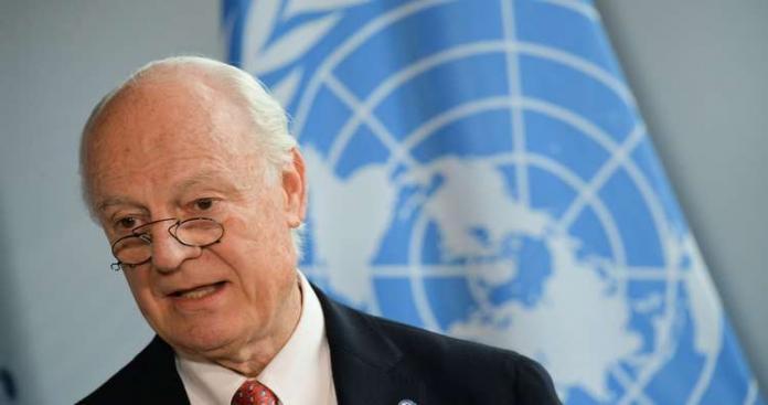 """مفاجأة صادمة حول المبعوث الأممي الجديد لسوريا.. خليفة """"دي ميستورا"""""""