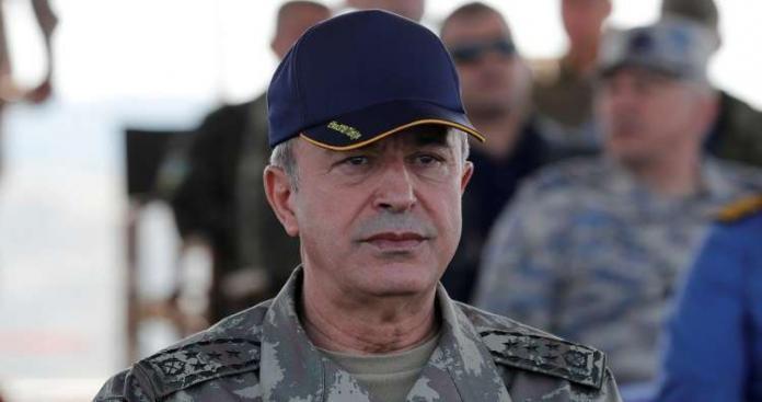 """وزير الدفاع التركي: ننتظر أمر الرئيس """"أردوغان"""" بشأن العملية العسكرية في منبج وشرقي الفرات"""