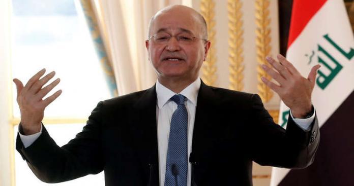 """رسالة """"مهمة"""" من الرئيس العراقي للسعوديين بخصوص إيران"""